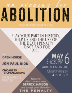 Join us at An Evening for Abolition
