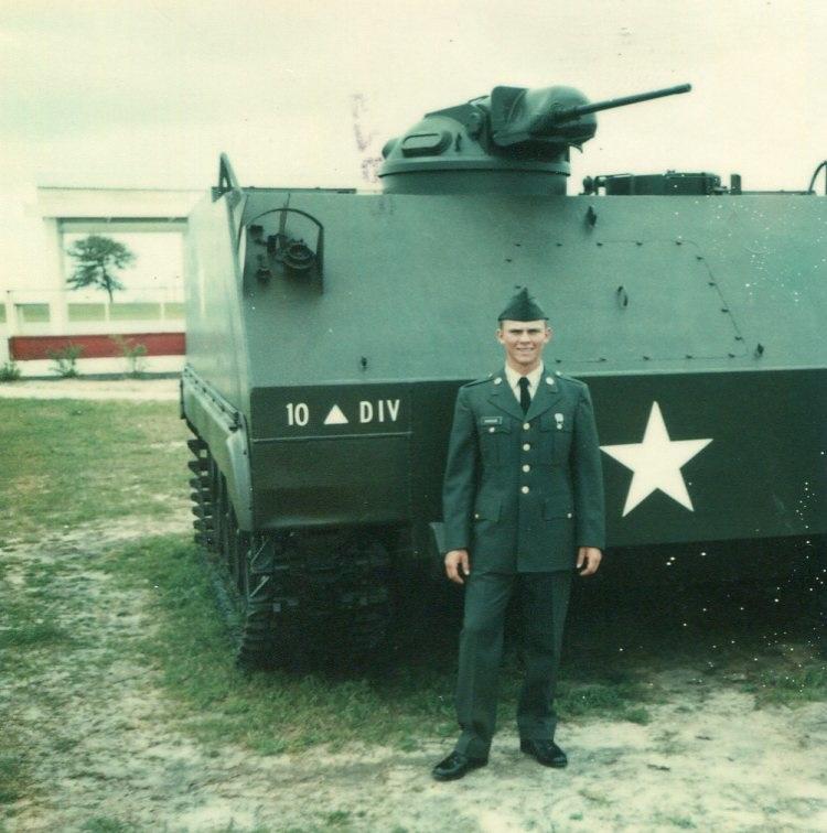 Robert 1977 after Basic Training Graduation